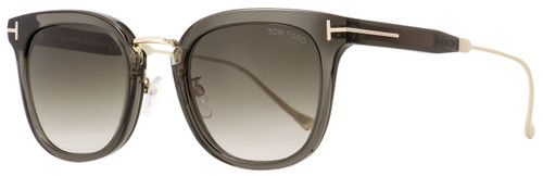 Tom Ford Square Sunglasses TF548K 20F Transparent Gray/Gold 53mm FT0548