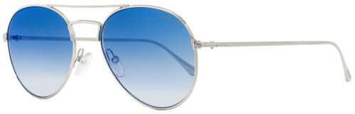 Tom Ford Aviator Sunglasses TF551 Ace-02 18X Rhodium 55mm FT0551