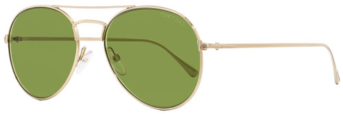 Tom Ford Aviator Sunglasses TF551 Ace-02 28N Gold 55mm FT0551