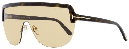 Tom Ford Shield Sunglasses TF560 Angus-02 52E Dark Havana 0mm FT0560