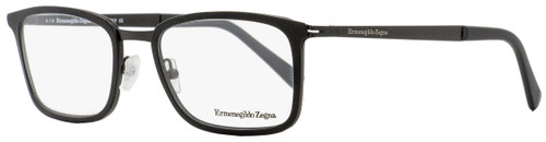 Ermenegildo Zegna Rectangular Eyeglasses EZ5047 002 Matte Black 55mm 5047