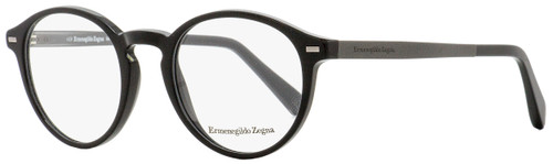 Ermenegildo Zegna Oval Eyeglasses EZ5061 005 Black 48mm 5061