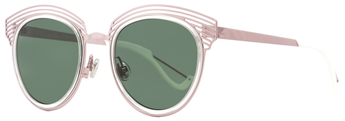 Dior Oval Sunglasses Enigme MSX85 Pink/White 51mm