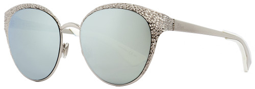 Dior Round Sunglasses Unique 010KP Palladium 52mm