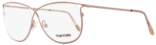 Tom Ford Butterfly Eyeglasses TF5145 072 Rose/Peach 54mm FT5145