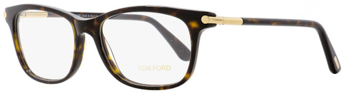 Tom Ford Rectangular Eyeglasses TF5237 053 Dark Havana/Gold 54mm FT5237
