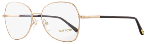 Tom Ford Butterfly Eyeglasses TF5248 028 Gold/Black 55mm FT5248