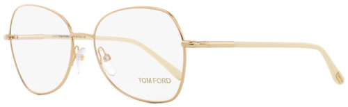 Tom Ford Butterfly Eyeglasses TF5248 029 Gold/Ivory 55mm FT5248