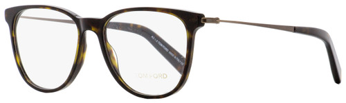 Tom Ford Oval Eyeglasses TF5384 052 Dark Havana/Brown 51mm FT5384