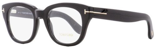 Tom Ford Rectangular Eyeglasses TF5473 001 Black 49mm FT5473