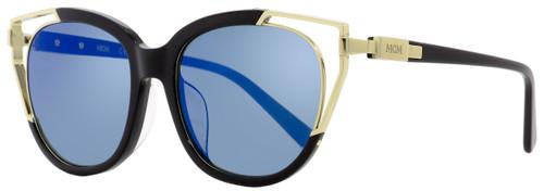 MCM Cateye Sunglasses MCM660SA 001 Black/Gold 57mm 660