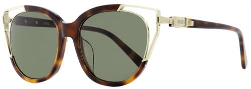 MCM Cateye Sunglasses MCM660SA 214 Havana/Gold 57mm 660