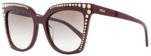 MCM Square Sunglasses MCM669S 602 Burgundy 55mm 669