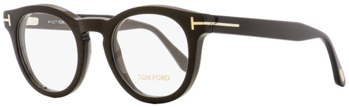 Tom Ford Oval Eyeglasses TF5489 001 Black 48mm FT5489