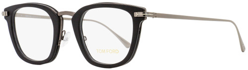 Tom Ford Square Eyeglasses TF5496 005 Matte Black/Ruthenium 47mm FT5496