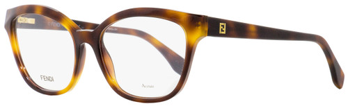 Fendi Oval Eyeglasses FF0044 05L Havana 54mm 044