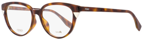 Fendi Oval Eyeglasses FF0141F MQL Havana 51mm 141