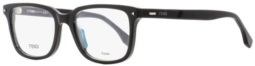 Fendi Rectangular Eyeglasses FF0220 807 Black 52mm 220