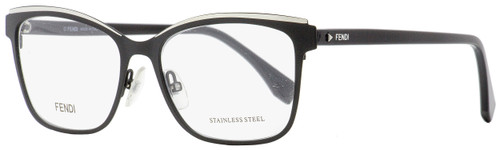 Fendi Rectangular Eyeglasses FF0277 807 Black 54mm 277