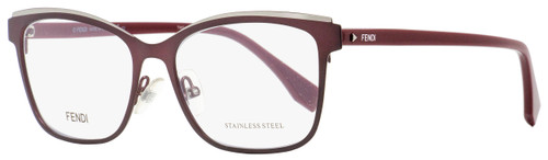 Fendi Rectangular Eyeglasses FF0277 LHF Burgundy/Opal 54mm 277