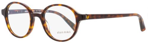 Alain Mikli Oval Eyeglasses A03064 3680 Havana 47mm 3064