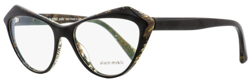 Alain Mikli Butterfly Eyeglasses A03089 Lumette 004 Black/Brown 55mm 3089