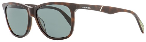 Diesel Rectangular Sunglasses DL0222 52N Dark Havana  57mm 222