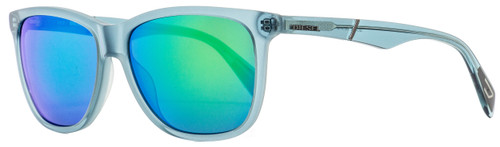 Diesel Rectangular Sunglasses DL0222 87Q Transparent Turquoise  57mm 222