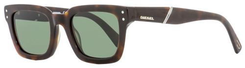 Diesel Rectangular Sunglasses DL0231 52N Dark Havana  51mm 231