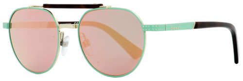 Diesel Oval Sunglasses DL0239 95Z Mint Green/Havana 52mm 239