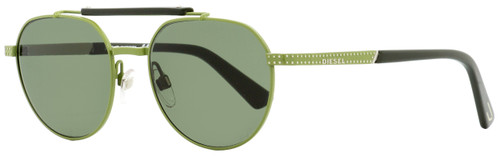Diesel Oval Sunglasses DL0239 97N Sage Green 52mm 239