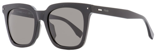 Fendi Rectangular Sunglasses FF0216FS 80770 Black 53mm 216