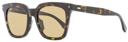 Fendi Rectangular Sunglasses FF0216FS 08670 Dark Havana 53mm 216