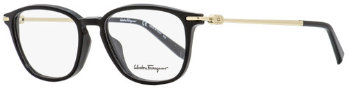 Salvatore Ferragamo Rectangular Eyeglasses SF2816 001 Black/Gold 53mm 2816