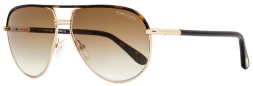 Tom Ford Aviator Sunglasses TF285 Cole 52K Havana/Gold 61mm FT0285