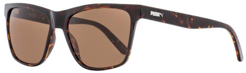 Puma Rectangular Sunglasses PU0168S Hampton 002 Havana 57mm 168