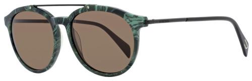 Diesel Oval Sunglasses DL0188 98J Dark Green 54mm 188