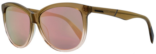 Diesel Oval Sunglasses DL0221 47Z Light Brown Gradient 59mm 221