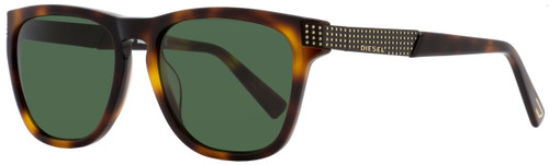 Diesel Rectangular Sunglasses DL0236 52N Dark Havana  54mm 236