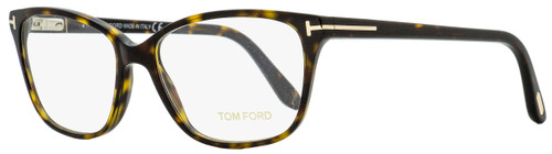 Tom Ford Oval Eyeglasses TF5293 052 Dark Havana 54mm FT5293