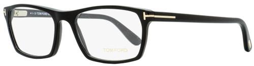 Tom Ford Rectangular Eyeglasses TF5295 001 Black 54mm FT5295