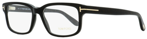 Tom Ford Rectangular Eyeglasses TF5313 001 Shiny Black 55mm FT5313