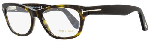 Tom Ford Rectangular Eyeglasses TF5425 052 Dark Havana 53mm FT5425