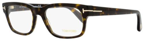 Tom Ford Rectangular Eyeglasses TF5432 052 Dark Havana 52mm FT5432