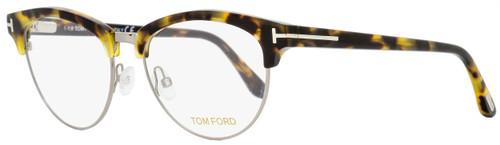 Tom Ford Oval Eyeglasses TF5471 056 Tortoise/Ruthenium 53mm FT5471