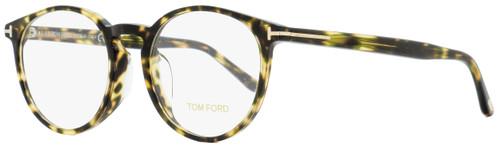 Tom Ford Alternative Fit Eyeglasses TF5524F 055 Vintage Havana 52mm FT5524