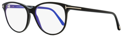 Tom Ford Blue Block Eyeglasses TF5544B 001 Black/Gold 55mm FT5544