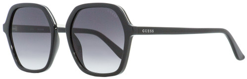 Guess Square Sunglasses GU7557 01B Black 54mm 7557