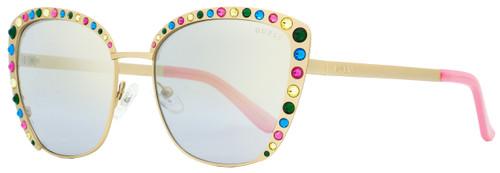 Guess Butterfly Sunglasses GU7586 32G Gold/Pink 55mm 7586