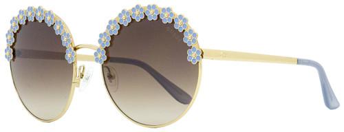 Guess Round Sunglasses GU7587 32G Gold 59mm 7587